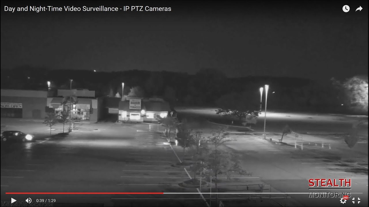 Day and Night-Time Video Surveillance - IP PTZ Cameras