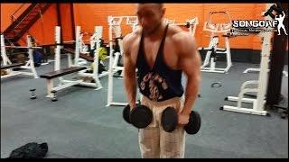 [VLOG] Tydzień z songiem HD - My 9th week / training shoulders, legs, back - part 1