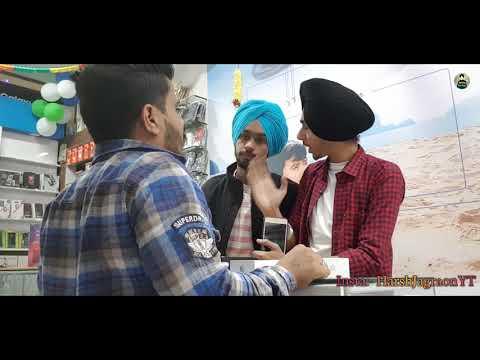 Buying IphoneXsMax In Punjab - Funny Video 2018😂 -  Being Sardar🔥