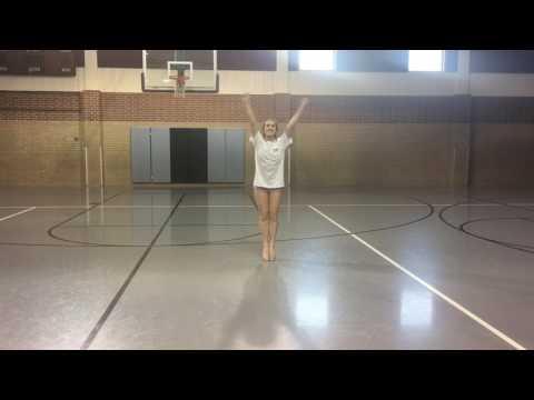 Jenks Pom tryout dance 2017 9th-varsity w/ music