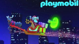 Мультики іграшки Плеймобил. Мисливці за привидами в новий рік.