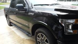 2015 F150 ecoboost OFF-ROAD DOWNPIPE first start
