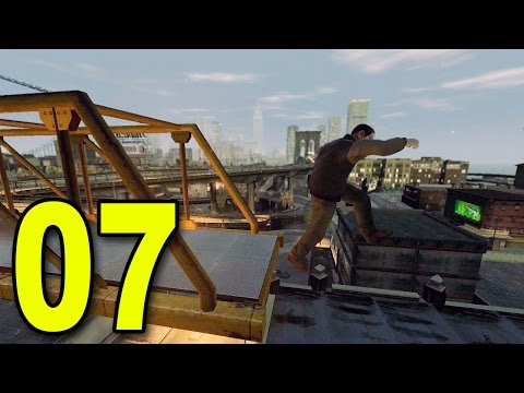 Grand Theft Auto 4 - Part 7 - Freerunning Fail (Let's Play / Walkthrough / Guide)