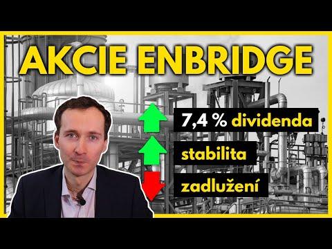 Akcie Enbridge: Dividenda 7,4 % a stabilní růst zisku