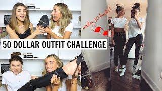 $50 OUTFIT CHALLENGE ft. Lauren Elizabeth l Olivia Jade