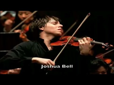 Joshua Bell plays in the Washington DC Metro