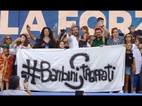 """Pontida 2019, Salvini: """"Tenetevi la poltrona, questa è l'Italia che vincerà"""" (15.09.19)"""