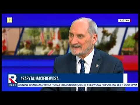 A.Macierewicz, ws.deeskalacji trzeba dać odpór Putinowi 27.11.2018
