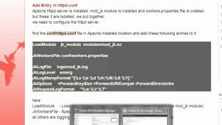 Tomcat Clustering Series Part 1 : Simple Load Balancer