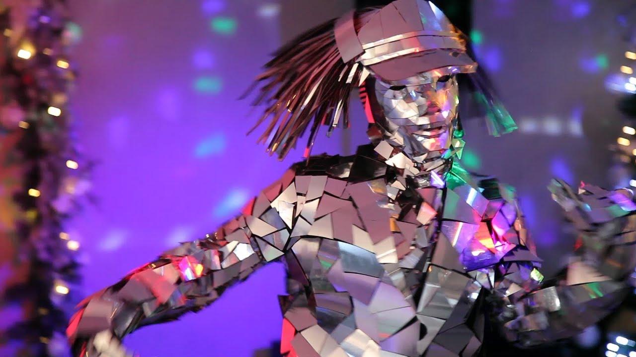 Зеркальное шоу 🔝 Самый крутой танец 🔝 Mirror suits 🔝 Шоу на праздник