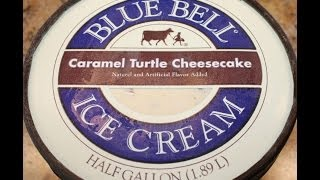 Blue Bell: Caramel Turtle Cheesecake Ice Cream Review