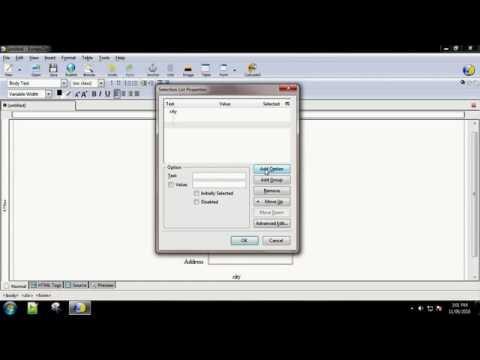 practical-1-creating-registration-form-using-kompozer