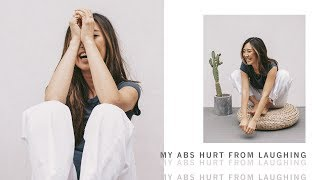 My Abs Hurt From Laughing | August Vlog