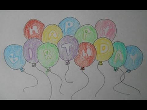balloon drawing for kids - photo #37