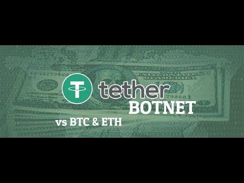 Bitcoin, Ethereum и TetherBotnet