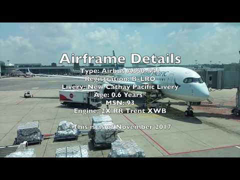 Cathay Pacific Airbus A350-900 XWB Business Class Flight Exp