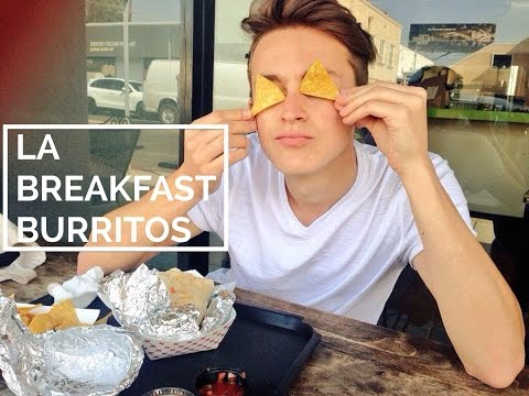 Eating Breakfast Burritos in LA