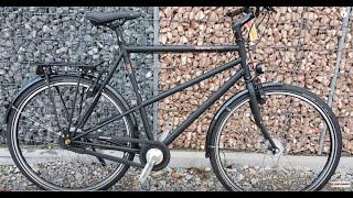 vsf fahrradmanufaktur T XXL Nexus Premium FL Trekking Bike 2016 ebony matt