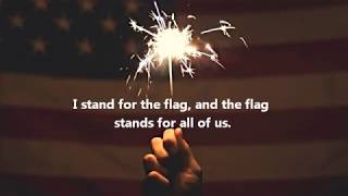 I Stand for the Flag Lyrics by The Wes Cook Band (Elspeth B. Covers)