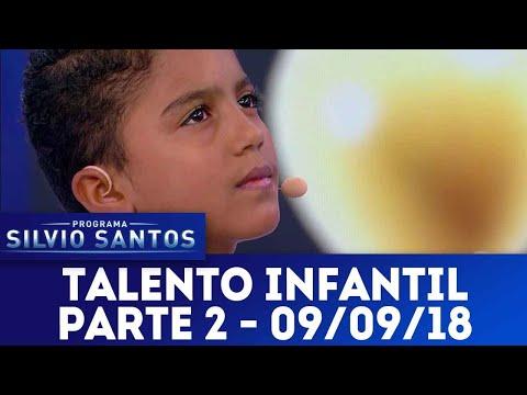 Talento Infantil - Parte 2 | Programa Silvio Santos (09/09/18)