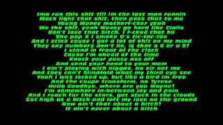 LIL WAYNE- ROLLING IN THE DEEP FREESTYLE (SORRY FOR THE WAIT) LYRICS ON SCREEN AND IN DESCRIPTION.