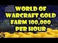 World Of Warcraft 100,000 GOLD PER HOUR FARM