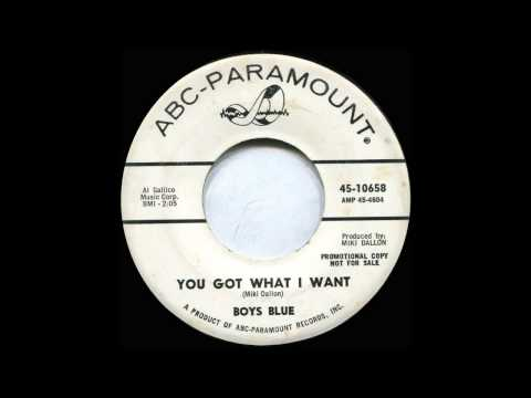 Boys Blue - You got what i want (1964, UK)