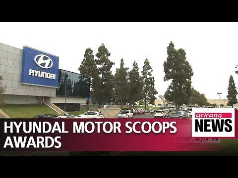Hyundai Motor scoops two major awards at Detroit Auto Show