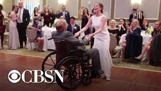 Dad with brain cancer determined to dance with daughter at wedding