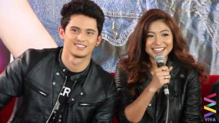 James Reid on courting Nadine Lustre