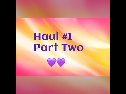 Haul (Dollar Tree, WalMart, ELF Cosmetics, Rue21, Target, Dollar General) Part 2