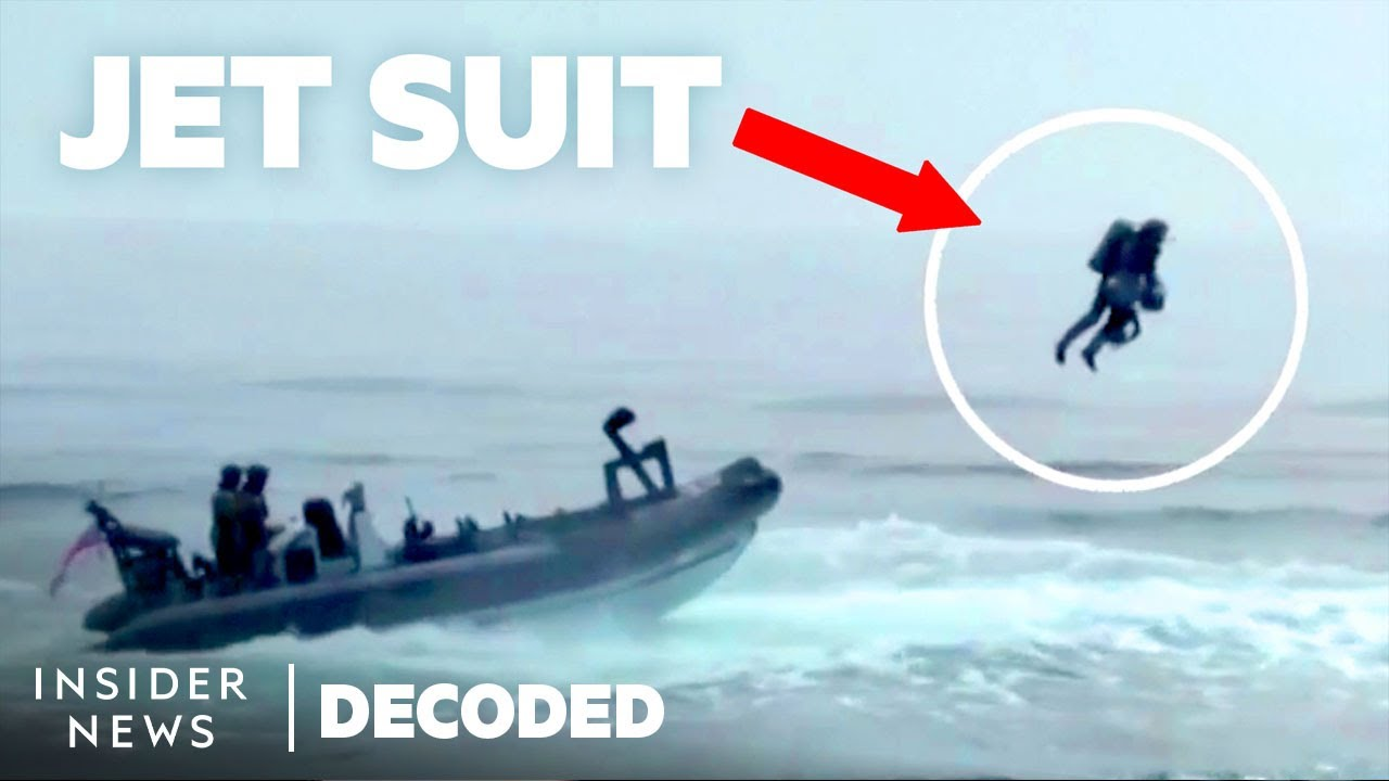 Jet Suits could be The Future of Capturing Enemy Vessels