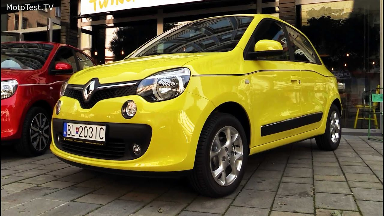 One Stop Auto Sales >> new Renault Twingo 2015 - yellow & red - YouTube