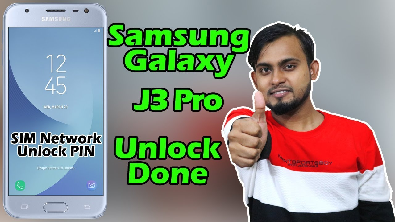 Samsung J3 Pro Network Unlock | SM-J330F Unlock Without Box