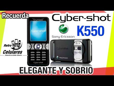 Recuerda Sony Ericsson K550 Colección Celulares Clásicos, Antiguos, Viejos RETRO CELULARES