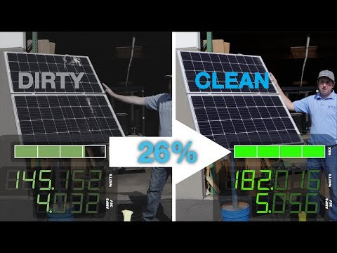 Solar Panel Cleaning Extra Add On The Superb Way