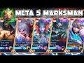 - Meta 5 Marksman Di Mythic, Mantap Gila?! - Mobile Legends