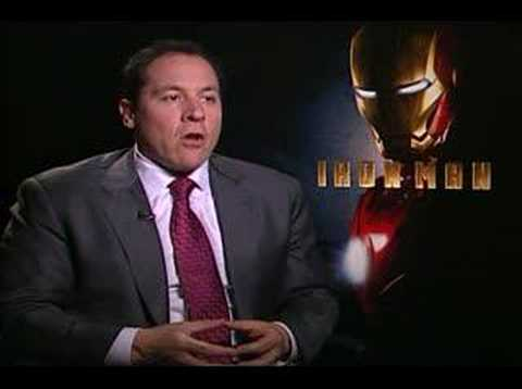 Jon Favreau interview for the movie IRON MAN