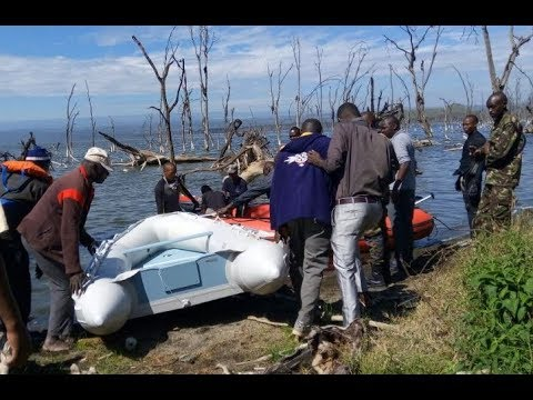 Two bodies of victims of Sunday helicopter accident at Lake Nakuru recovered