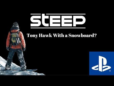 Steep: Tony Hawk with a Snowboard?