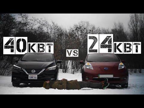 Чем новый LEAF лучше старого?/Самый массовый электрокар Nissan leaf в #теслазаменители