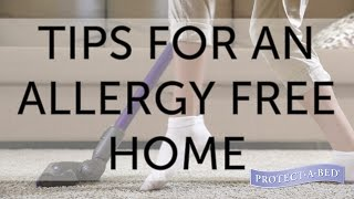 Reducing Allergies: Tips for an Allergy Free Home