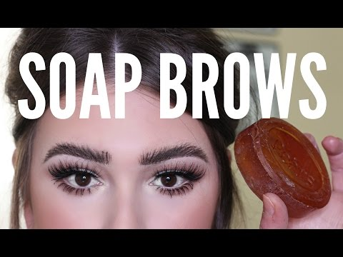 In Depth SOAP BROW ROUTINE | Carly Humbert