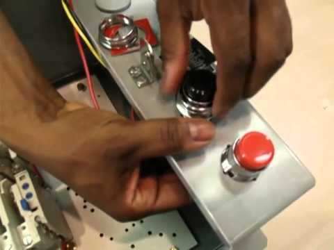 Start Stop Wiring Diagram Grid Tie Inverter Block How To Install A Pushbutton 10250t Kit Youtube