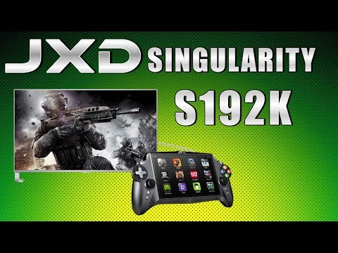 JXD S192K Singularity Android Gaming Tablet Review