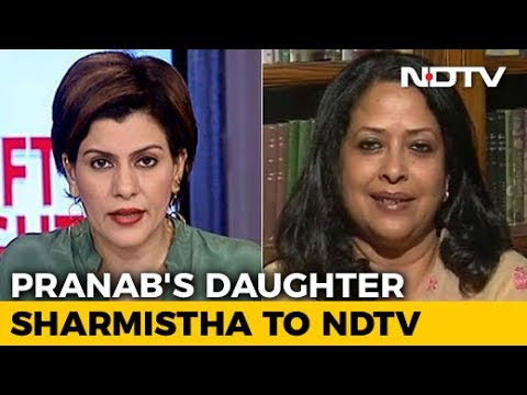Pranab Mukherjee's Daughter On Life In Rashtrapati Bhavan