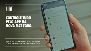 Fiat I Nova Fiat Toro com diversos serviços pelo app