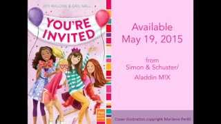 You're Invited book trailer