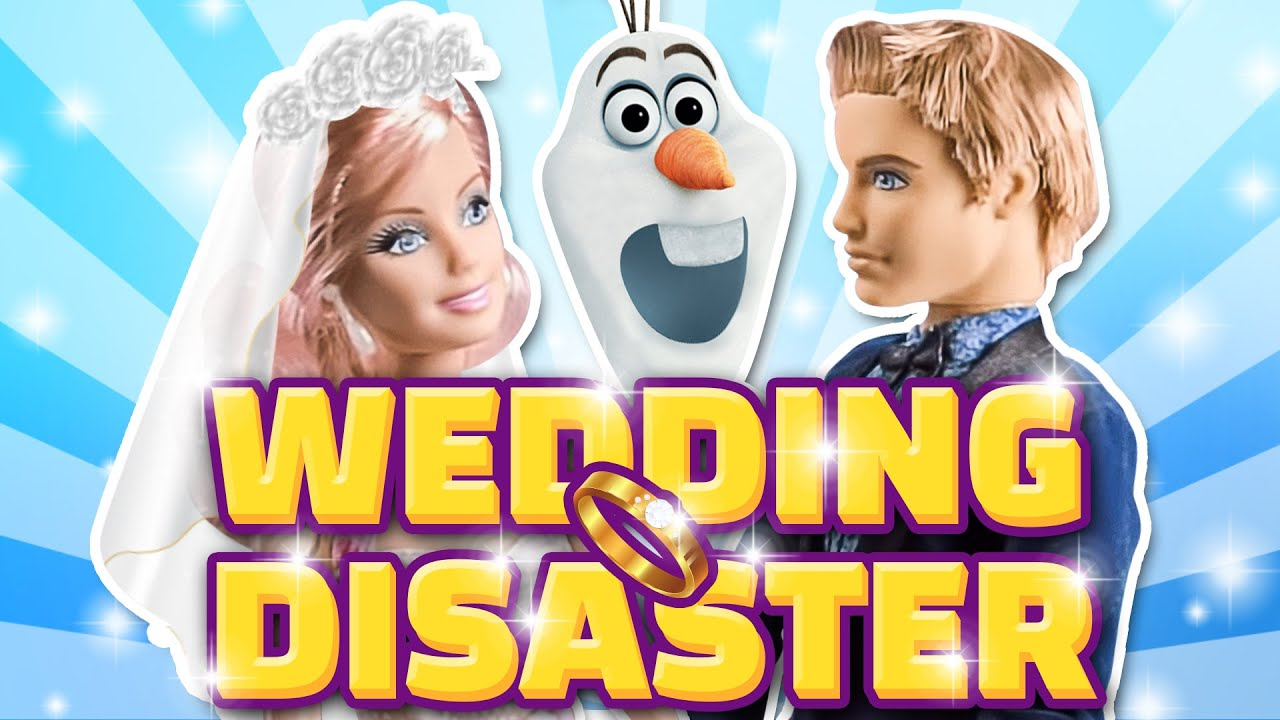 Barbie Wedding Day Disaster Ep 1