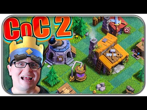 CLASH OF CLANS 2 THE BIGGEST UPDATE EVER | Clash of Clans 2 Let's Play | Deutsch German